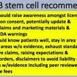 Pending State Medical Boards Group Report on Stem Cell Clinics Could be Game Changer