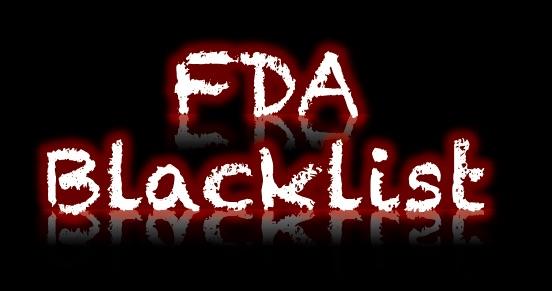 FDA-Blacklist