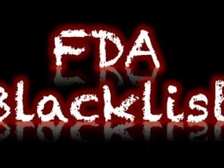 FDA Blacklist