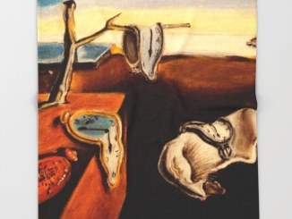 Salvaor Dali, The Persistence of Memory; waiting game