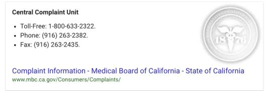 California State Medical Board