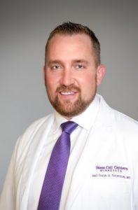 Dr. Matthew Thorson bone marrow stem cells