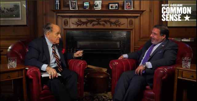"Robert Hariri talking with Rudy Giuliani on testing ""stem cells"" for COVID19."