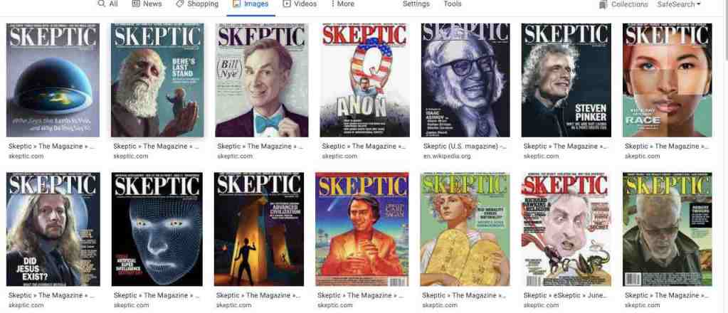 skeptic magazine science blogging
