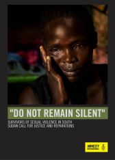 Do Not Remain Silent - Amnesty