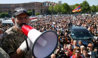 ARMENIA Prime Minister steps down amidst protests