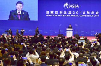 CHINA Xi Jinping pledges to open markets and slash tariffs
