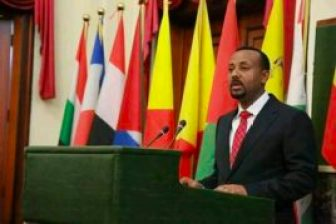 ETHIOPIA Aby Ahmed
