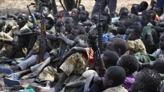 South Sudan More than 200 child soldiers freed