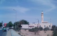 The Al Qaramani mosque in El-Arish is now accessible to Bedouins. / Credit:Mohammed Omer/IPS.