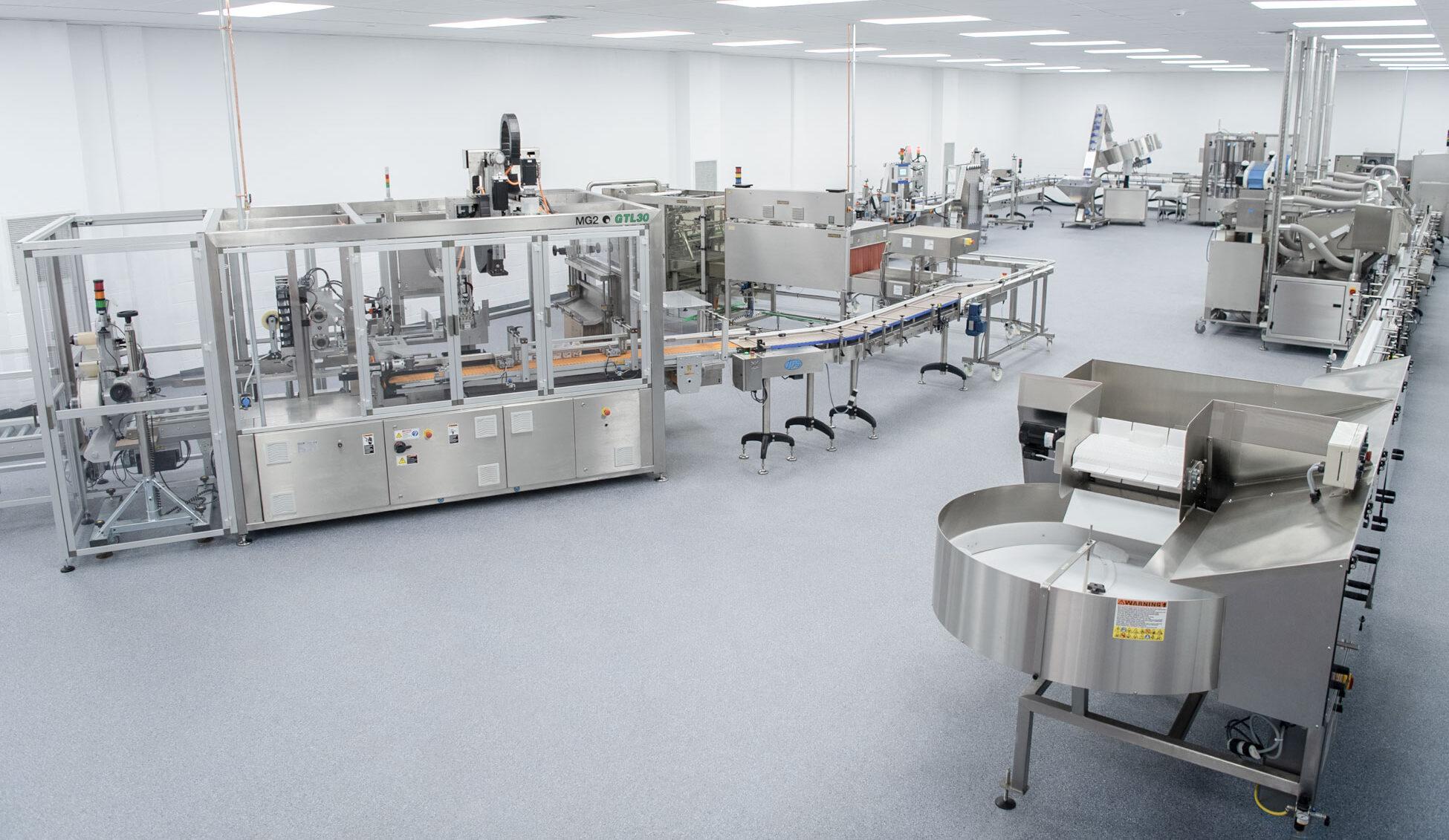 pharma packaging line integration