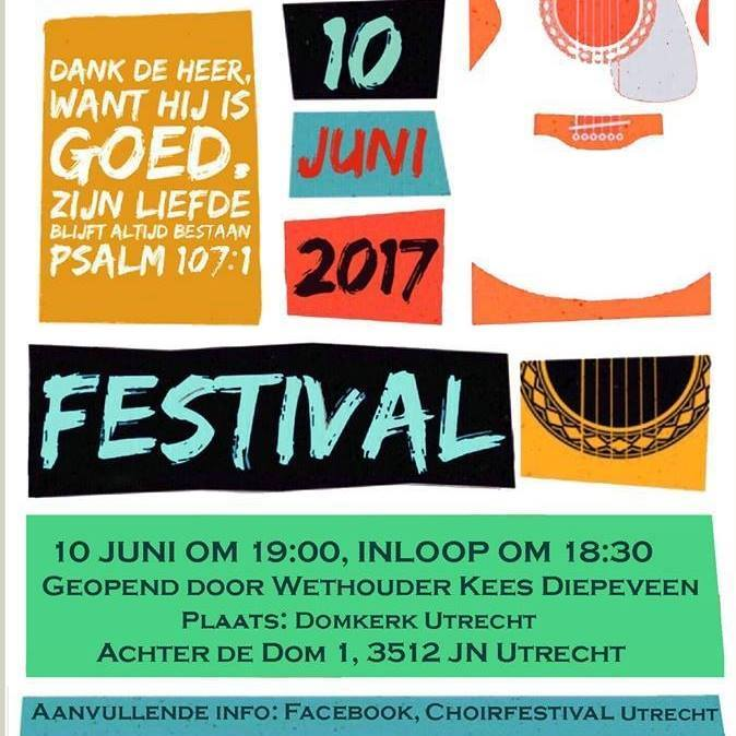 Choir Festival 2017 in Domkerk Utrecht