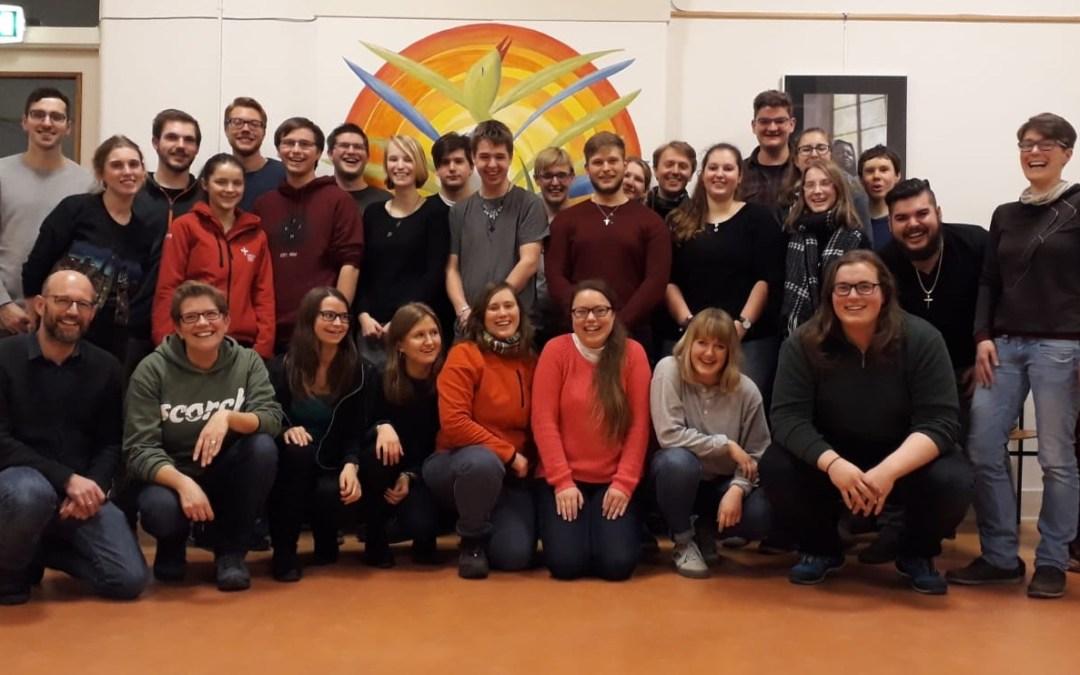 Bezoek Duitse studenten