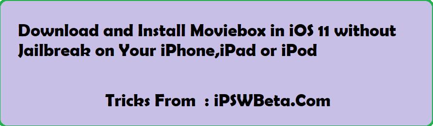 movie box app ios download