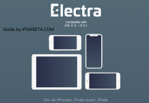 Download Electra Jailbreak iPA for iOS 11-11.1.2~Step By Step Jailbreak