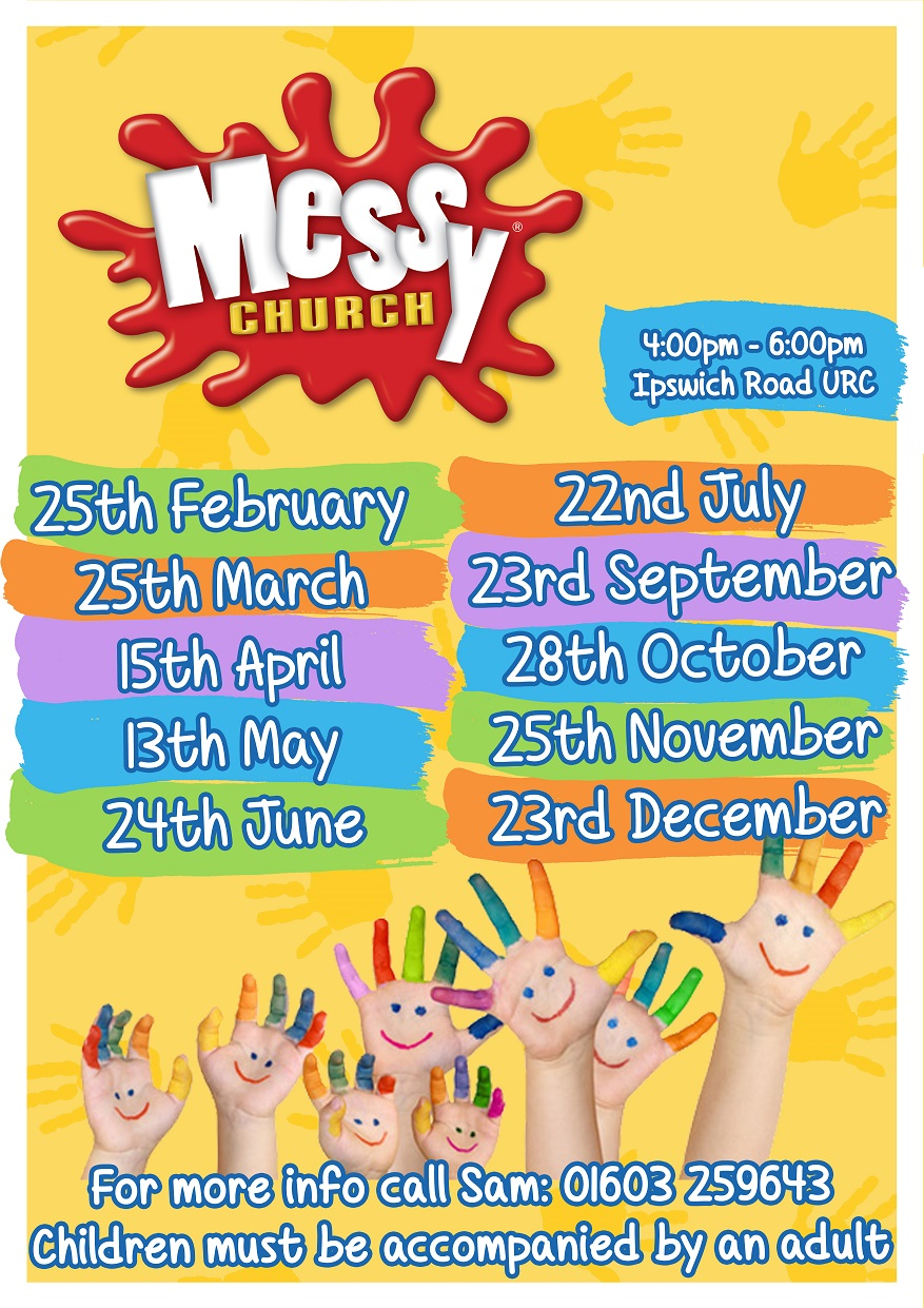 Messy Church 2017 dates small