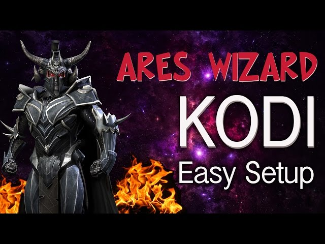 KODI 16 ARES WIZARD – Easy Setup Tutorial