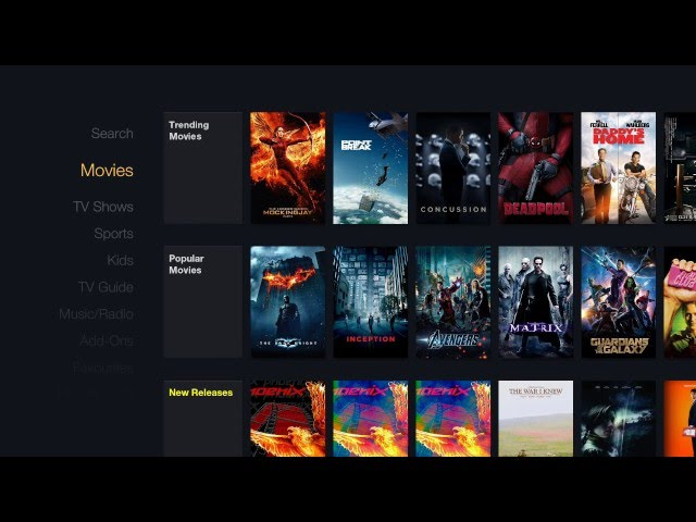 FireFlix for Kodi! AWESOME BUILD!