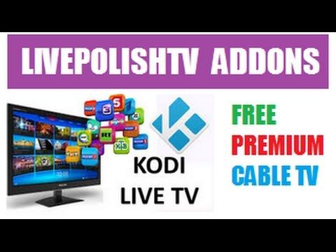 HOW-TO INSTALL IPTV LivePolishTV ADDON FOR LIVE TV,