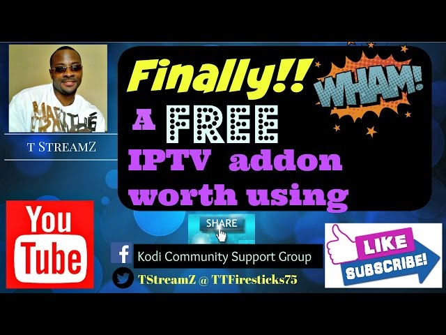 The Hottest FREE Kodi IPTV addon right now