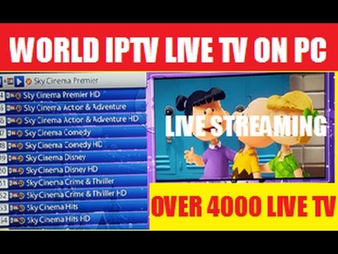 HOW-TO INSTALL IPTV-WORLD ADDON FOR LIVE TV,MOVIE,SPORTS ON