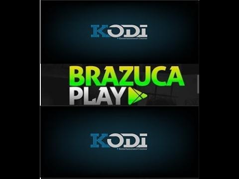 LISTA IPTV 2017 | BRAZUCA PLAY NOVO ADDON | KODI