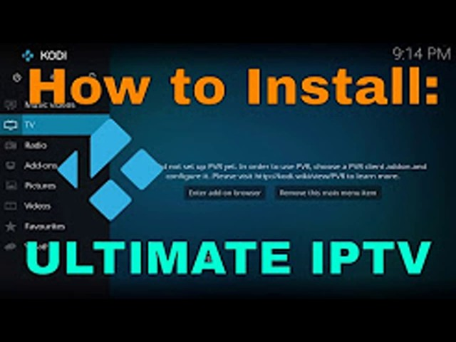 How to Install ULTIMATE IPTV Video Addon for KODI – FREE