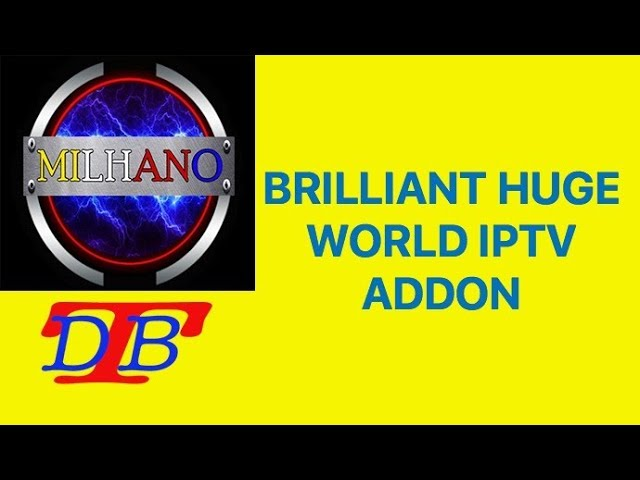 AWESOME IPTV ADDON WORKS GREAT LOADS OF DIFFERENT SECTIONS