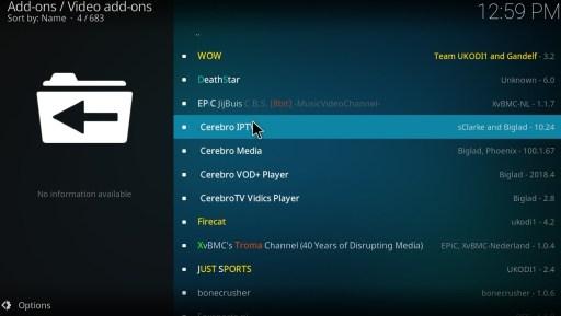 Cerebro IPTV