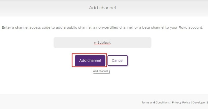 Add Channel