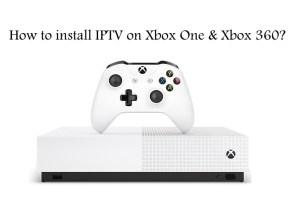 IPTV on Xbox one/360