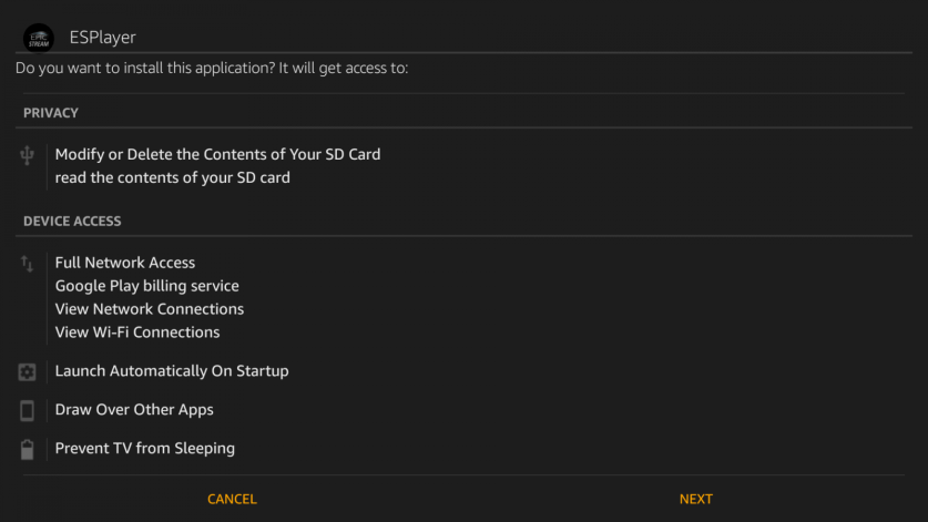 Install Epic Stream TV on Firestick