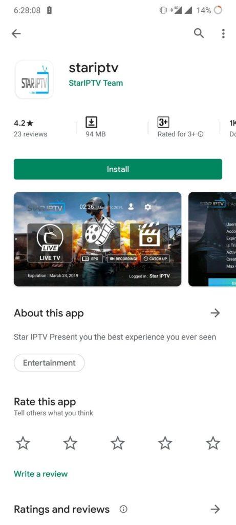 StarIPTV