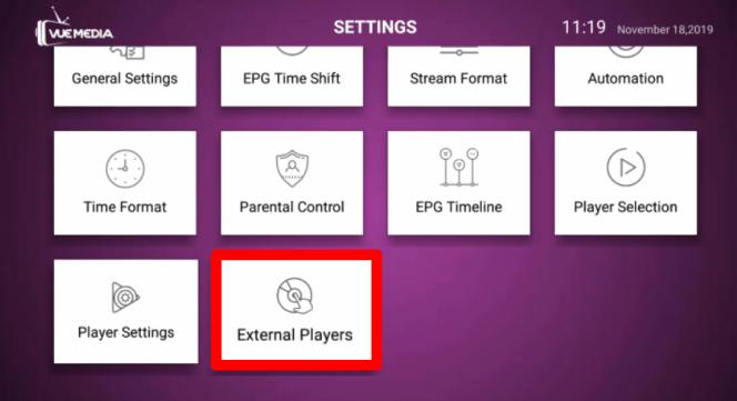 External players