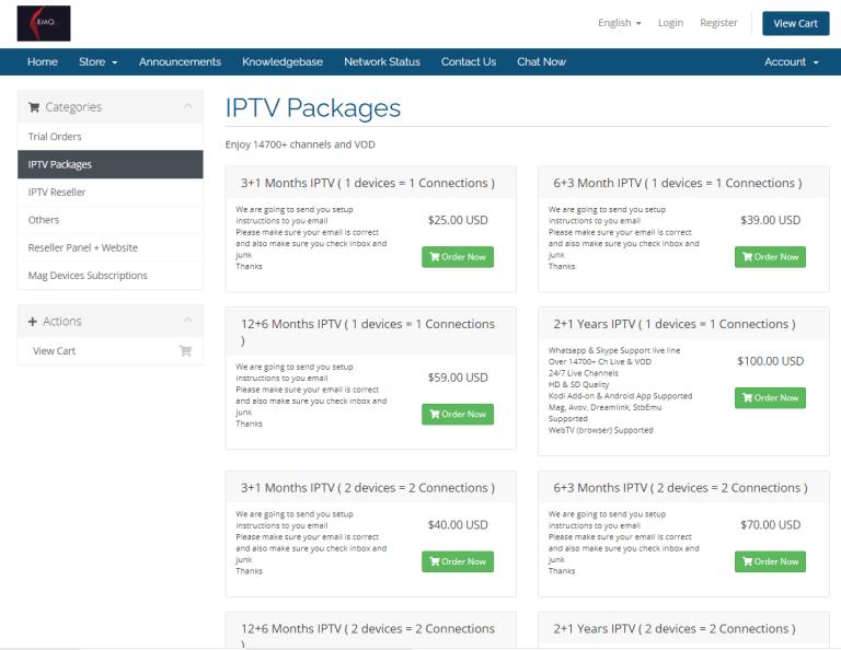 package - Kemo IPTV