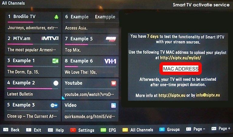 MAC - Fox IPTV