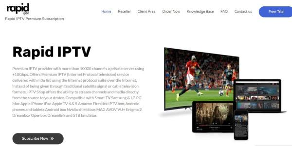 Subscribe Now - Rapid IPTV