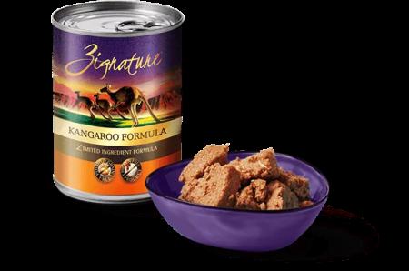 Zignature Canned Food Review Kanagaroo