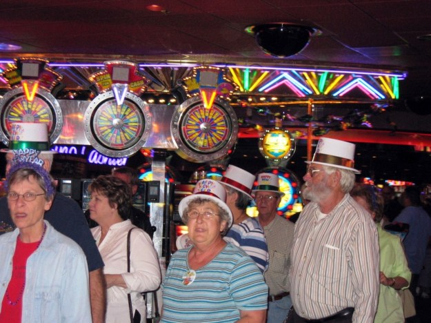 Westward Ho, Las Vegas - closing night November 25, 2005 - Dancing on out the Ho
