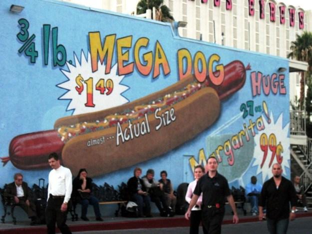 Westward Ho, Las Vegas - closing night November 25, 2005 - Ho Dog Mural