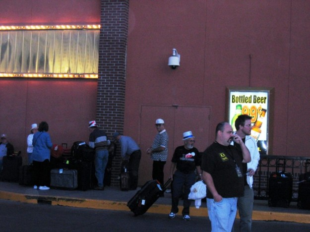 Westward Ho, Las Vegas - closing night November 25, 2005 - Last Hotel Guests