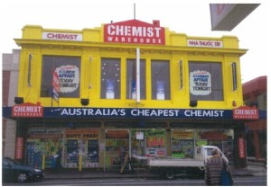 Some Chemist Warehouse storefronts