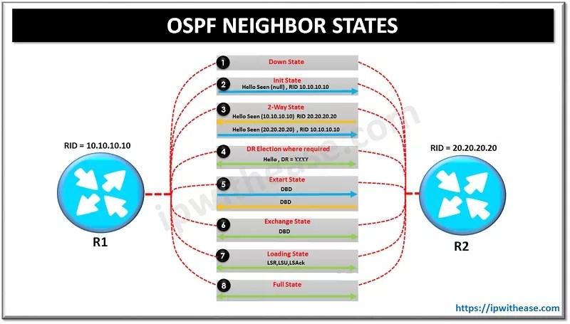 OSPF NEIGHBOR STATES