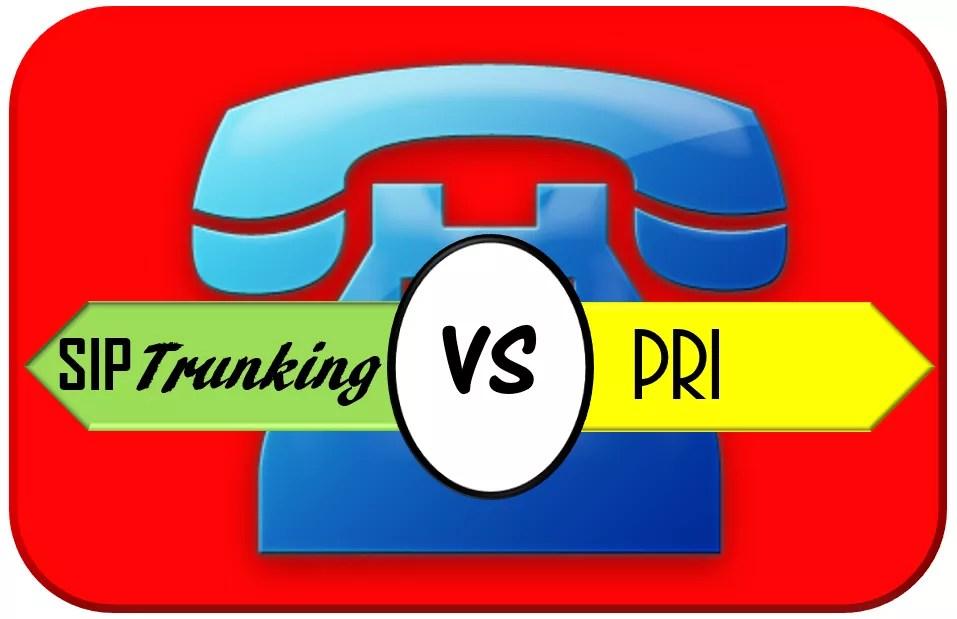 SIP Trunking vs PRI