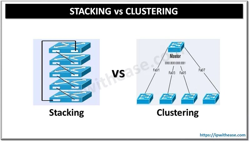 switch stacking vs clustering