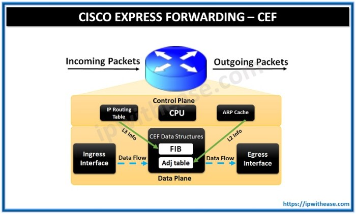 cisco express forwarding