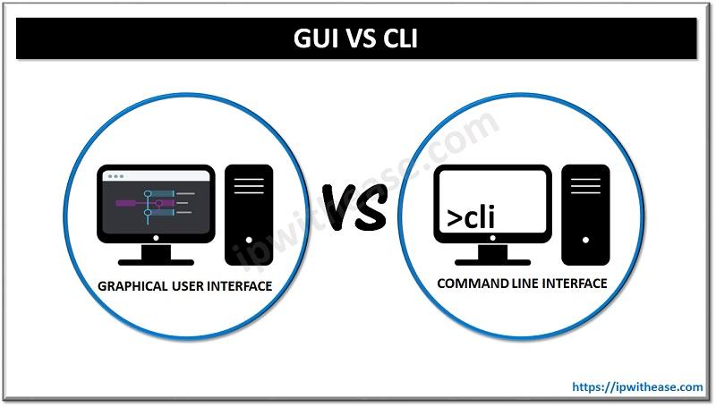 GUI VS CLI