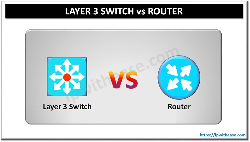 Layer 3 vs Router