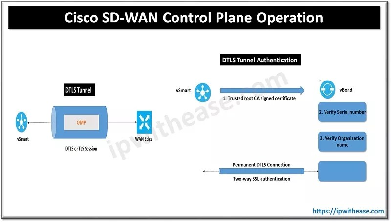 cisco sd-wan control plane operation