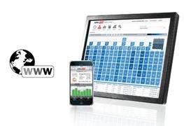 SolarEdge web monitoring